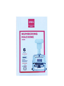 6 Digit Numbering Machine