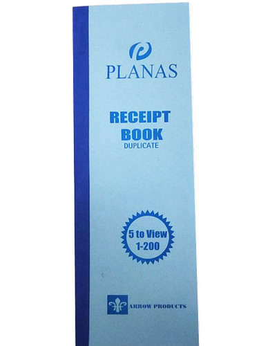 Receipt Book 5 To View