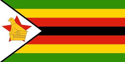 Zimbabwe Flag 180MM*85MM