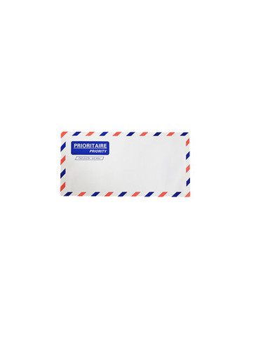 dl White Air Mail Envelop(Folder)