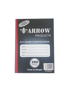 3 Quire Counter Book